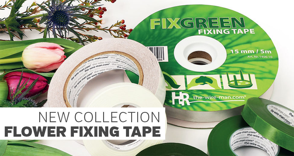 Flower fixing tape